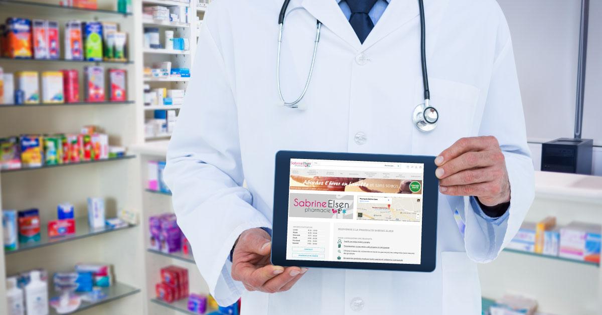 Webshop pharmacie Sabrine Elsen